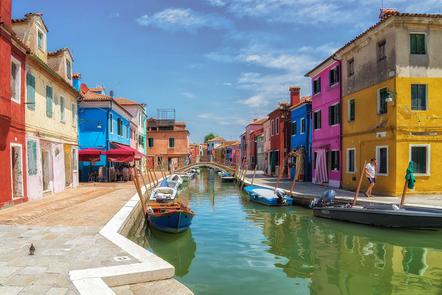 Gebel Hans-Peter - Burano without tourists - Annahme - 1 FT